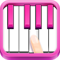Real Pink Piano - Instruments Music Kid icon