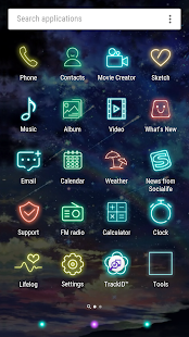 Sky Lights Xperia Theme for PC-Windows 7,8,10 and Mac apk screenshot 4