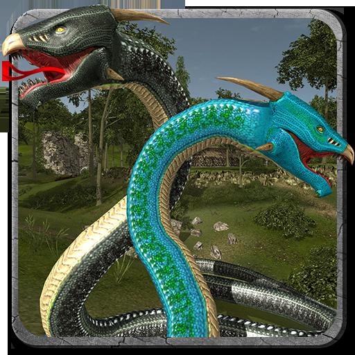 Snake Simulator Anaconda Attack