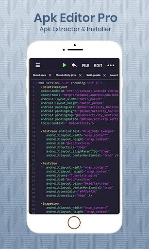 APK Editor Pro : APK Extractor & Installer 1.0 screenshots 2