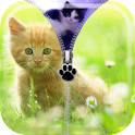 Kitty zip Locker icon