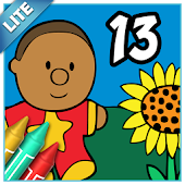 Coloring Book 13 Lite: Kid's Stuff
