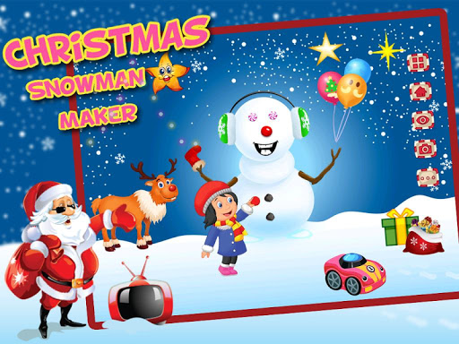 Snowman Maker Dressup Salon