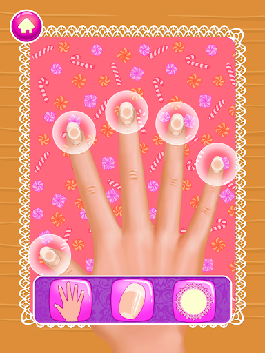 Nail Salon : princess 1.0.4 screenshots 6