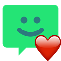 chomp Emoji - Android Blob Style icon