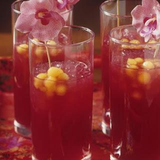 Bloodorange Fruit Cocktail