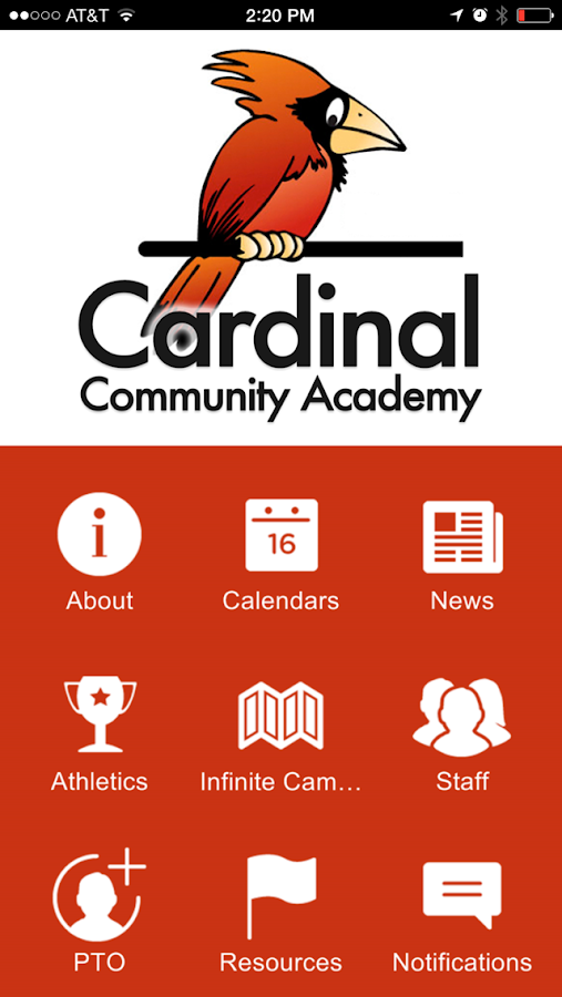 Cardinal Community Academy- screenshot