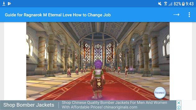 Guide for Ragnarok M: Eternal Love - Change Job APK Latest