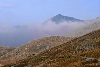 Photo: Here's a first view of the summit.