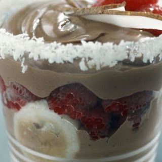 Coffee Trifle Cups with Berries