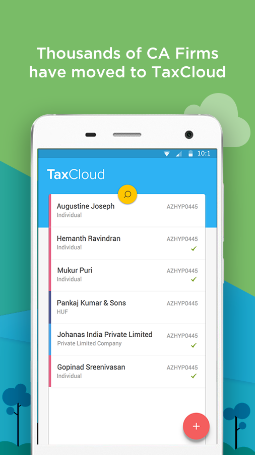 TaxCloud — Income Tax Return- screenshot