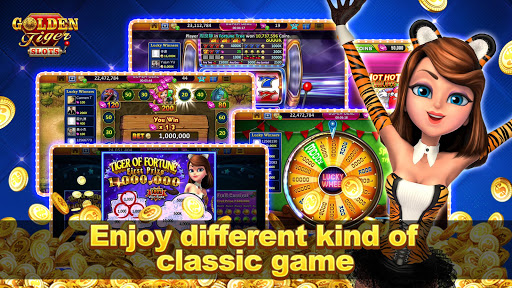 Golden Tiger Slots - Online Casino Game 1.3.0 screenshots 3