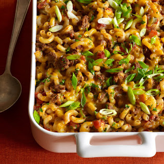 Macaroni-and-Beef Casserole.