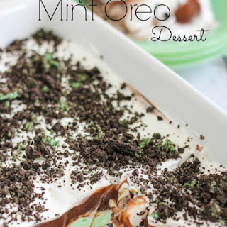 Mint Oreo Dessert Recipes.