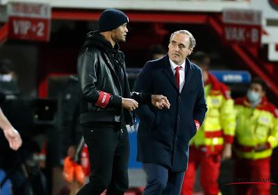 """Yves Vanderhaeghe battu par Anderlecht et médusé: """"Un zéro pointé à la finition"""""""