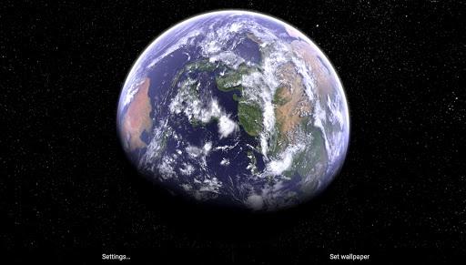 Earth & Moon in HD Gyro 3D Parallax Live Wallpaper 2.8 Screenshots 6