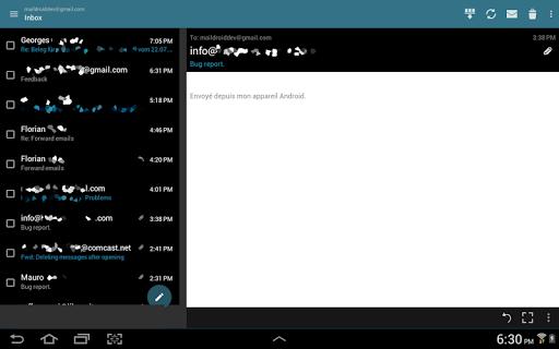 MailDroid screenshot 13