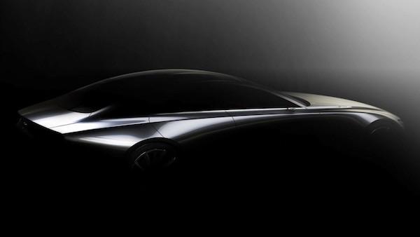 รถ Prototype ในแบบซีดานที่คาดกันว่าจะเป็น Mazda6