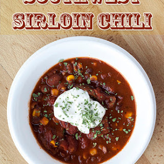 Southwest Sirloin Chili