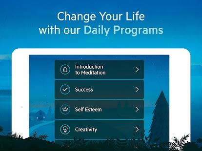 Relax Meditation: Guided Mindfulness Meditations Screenshot