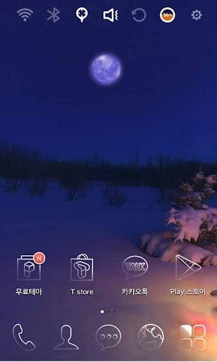 Snow X-mas Tree Theme