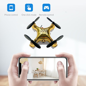 Mini Drona WiFi giroscop 6 axe 2.4GHz, camera HD si telecomanda