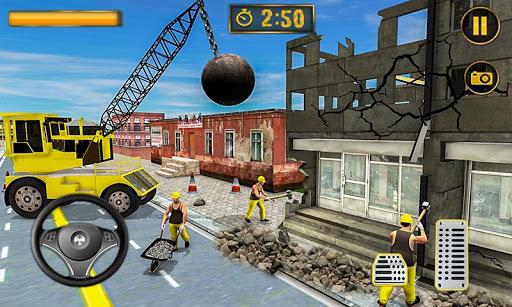 Wrecking Crane Simulator 2019: House Moving Game ss2