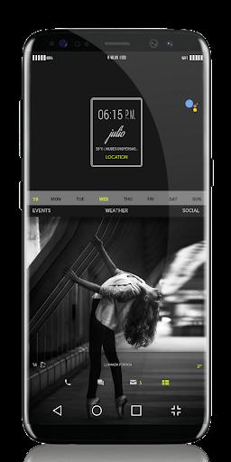 Ligth UI Kustom Pro 1/Klwp screenshot 7
