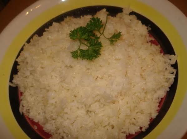 Cuban Fluffy White Rice Recipe