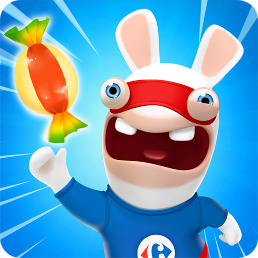 Carrefour Rush Lapins Crétins (game)