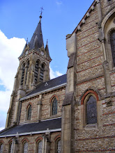Photo: Next is a visit to the town of Ramboulllet, first passing the 19th century Gothic St Lubin Church.