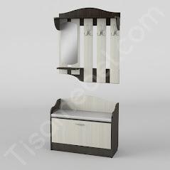 Прихожая-1 мебель разработана и произведена Фабрикой Тиса мебель
