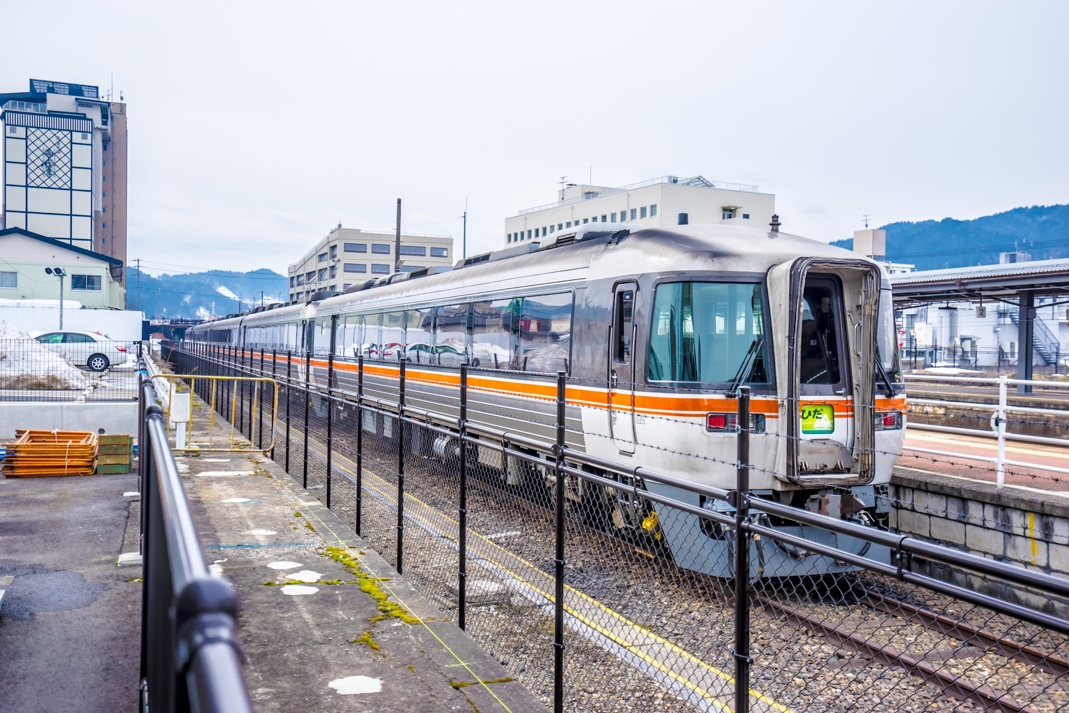 Hida express train