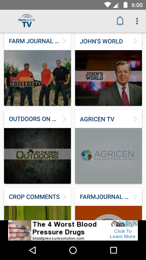FarmJournal TV- screenshot