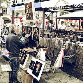 Montmartre by Libor Choleva - People Street & Candids
