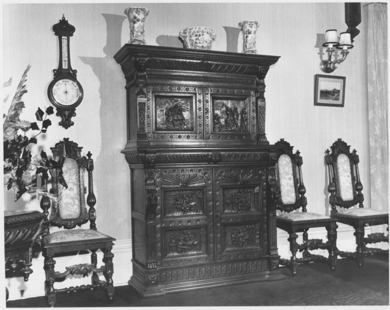 Wooden furniture, 'High Peak', Neika, Tasmania
