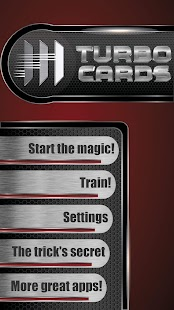 TURBO CARDS (Magic Trick)- screenshot thumbnail