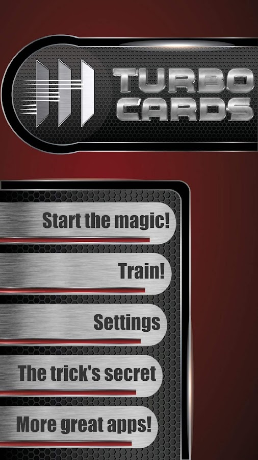 TURBO CARDS (Magic Trick)- screenshot