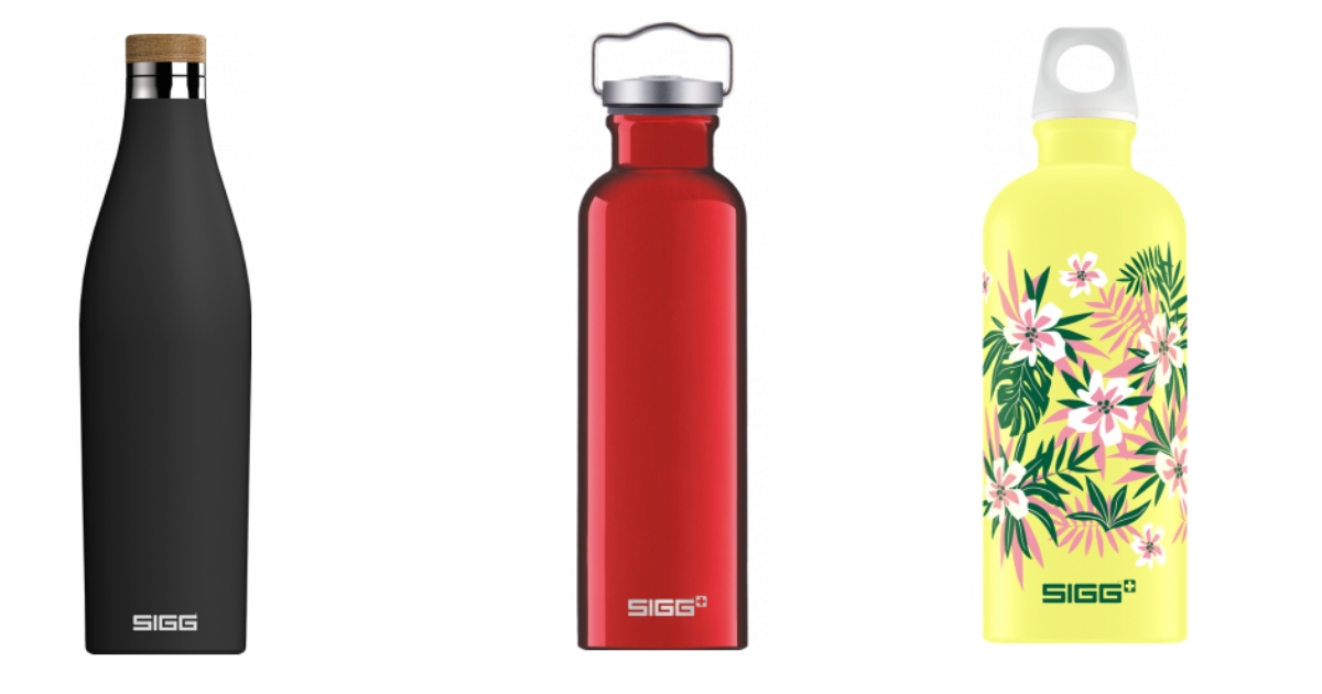 sigg ūdens pudeles ikdienai