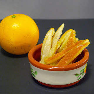 Candied Orange Peel.