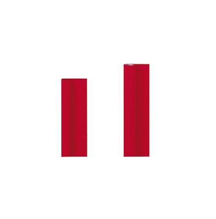 Dukrulle Damast 118cmx8m  röd