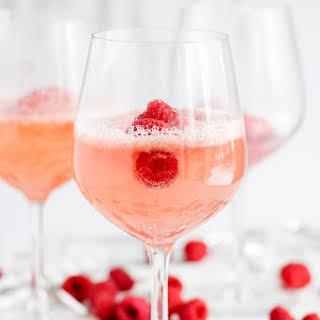 Raspberry Sorbet Champagne.