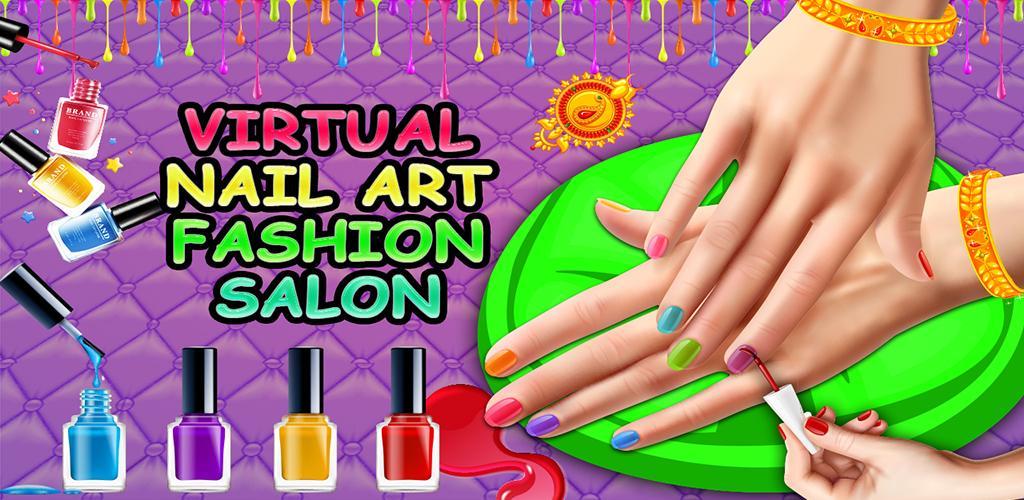 Download Virtual Nail Art Fashion Salon Games for Girls APK