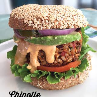 Chipotle Lentil Burgers.