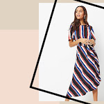 Discover 3 fabulous ways to wear the striped dress
