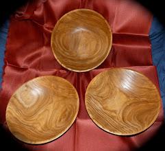 Photo: red elm salad bowls