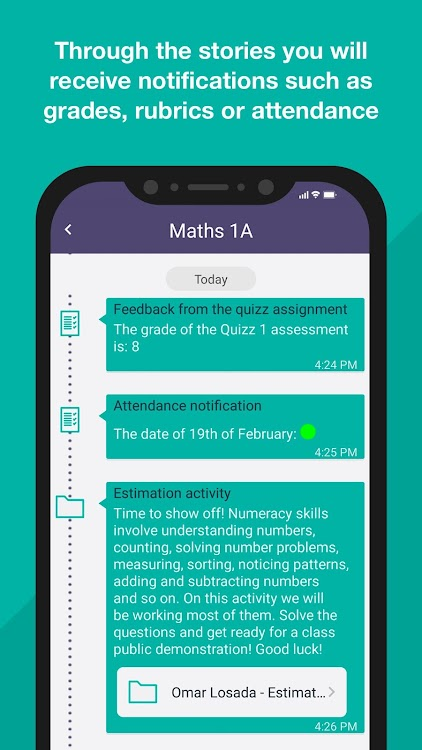 Grade dating App Android