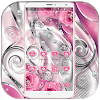 Pink rose diamant amour theme Pink rose love