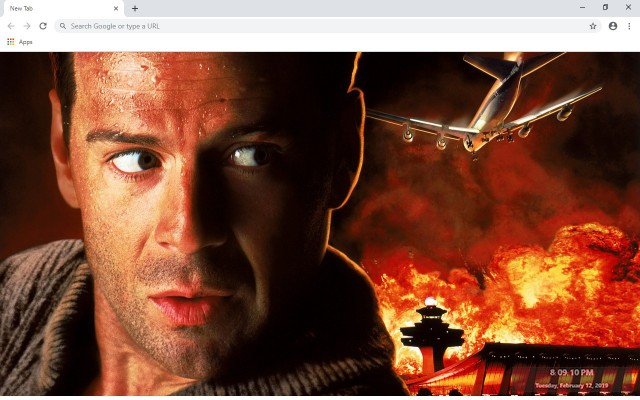 Die Hard New Tab & Wallpapers Collection