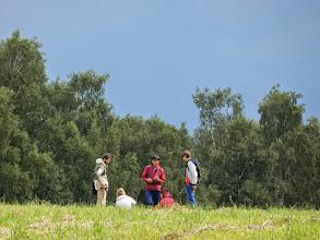 Photo: в обсуждении спорных вопросов с преподавателями в поле, ...